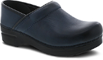 Dansko Professional Clog for Women in Navy Burnished Nubuck