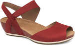 Dansko Vera Sandal for Women in Red