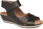 Dansko Violet Sandal for Women Black 40