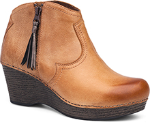 Dansko Veronica Ankle Boot for Women in Honey