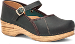 Dansko Marcelle Clog for Women in Teal Oiled Leather