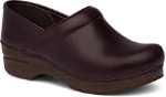Dansko Professional Clog for Women in Cordovan Pull-Up