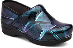 Dansko Pro XP Clog for Women in Paint Brush Patent