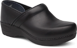 Dansko Pro XP 2.0 Clog for Women in Black Pull-Up Leather