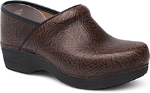 Dansko Pro XP 2.0 Clog for Women in Brown Floral Tooled