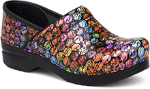 Dansko Professional Clog For Women In Script Patent