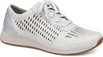 Dansko Charlie Sneaker for Women in White 38