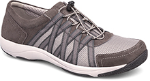 Dansko Honor Sneaker for Women in Charcoal Suede