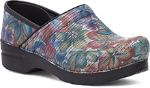 Dansko Professional Clog For Women in Exotic Floral
