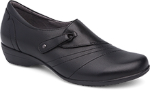 Dansko Franny Shoe for Women in Black (Wide)