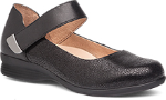 Dansko Audrey Shoe for Women in Black Crackle 38