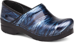 Dansko Professional Clog For Women in Navy Crinkle Patent