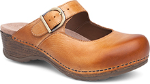 Dansko Martina Clog for Women Honey & Stone