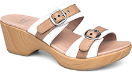 Dansko Jessie Sandal For Women in White/Sand 38