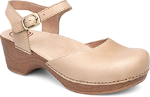 Dansko Sam Clog for Women in Sand Dollar FG 38