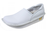 Alegria Debra White Nappa Shoe for Women