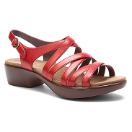 Dansko Dani Sandal for Women in Crimson 38