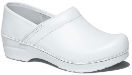 Dansko Pro XP Clog for Women in White Box Leather