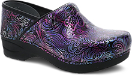 Dansko Pro XP 2.0 Clog for Women in Engraved Floral Patent