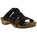 Sanita Wood Fatu Sandal For Women in Black 42