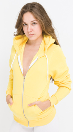 American Apparel Adult Zip Hoody for Women Style F497
