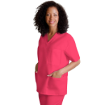 Adar V-Neck Tunic 3-Pocket