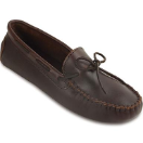 Minnetonka Classic Driving Moccasin for Women in Brown 9.5