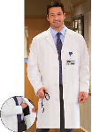"META 40"" Knot Button iPad Lab Coat for Men"