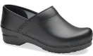 Dansko Professional Clog for Women in Box Leather-Wide Widths