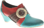 Spring Step L'Artiste Rennaisance Shoe for Women in Turquoise