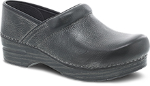 Dansko Professional Clog For Women in Charcoal Distressed