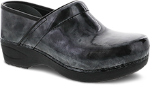 Dansko Pro XP 2.0 Clog for Women in Pewter Marbled Patent
