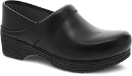 Dansko LT Pro Clog for Women in Black Leather