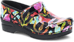 Dansko Professional Clog For Women in Color Fusion Patent